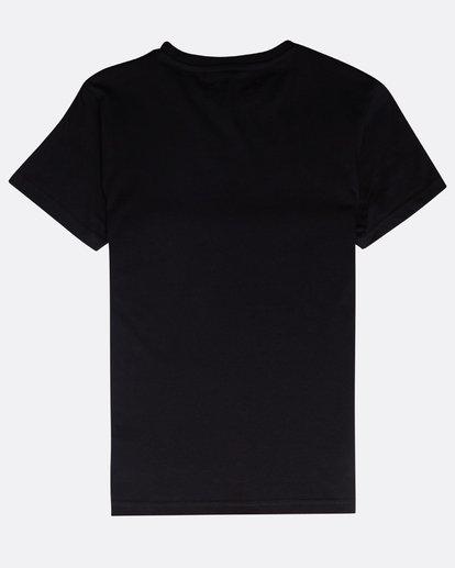 1 Boys' High Line T-Shirt Schwarz N2SS06BIP9 Billabong