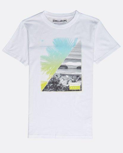 0 Boys' Chill Out T-Shirt Blanco N2SS07BIP9 Billabong