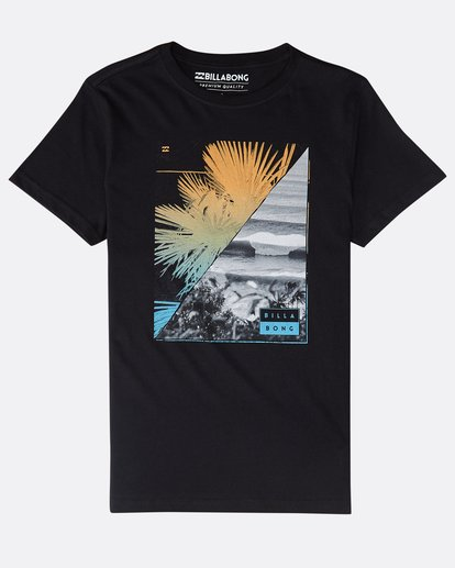 0 Boys' Chill Out T-Shirt Schwarz N2SS07BIP9 Billabong