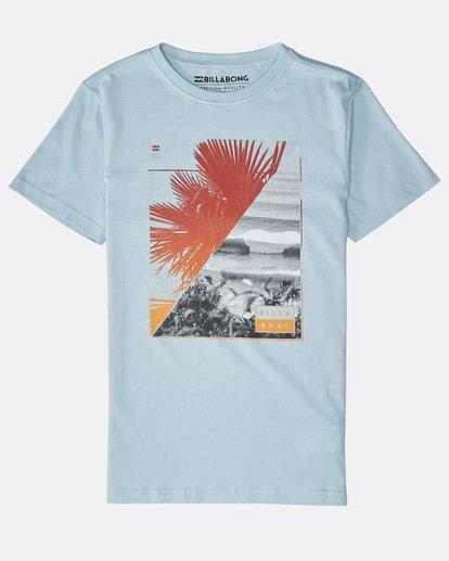 0 Boys' Chill Out T-Shirt Blau N2SS07BIP9 Billabong