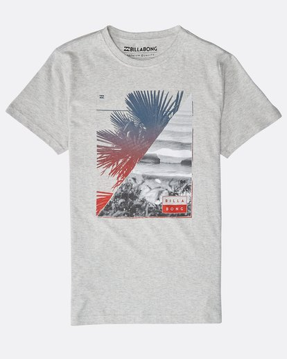 0 Boys' Chill Out T-Shirt Gris N2SS07BIP9 Billabong