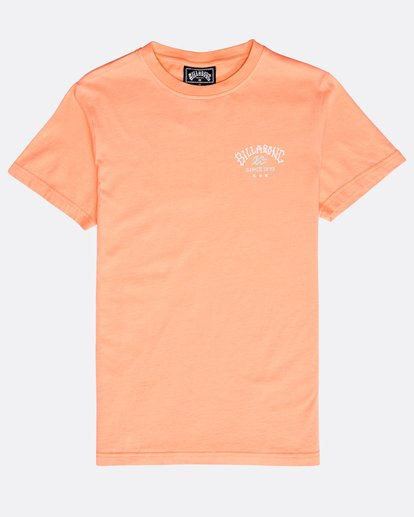 0 Boys' Get Back T-Shirt Naranja N2SS08BIP9 Billabong