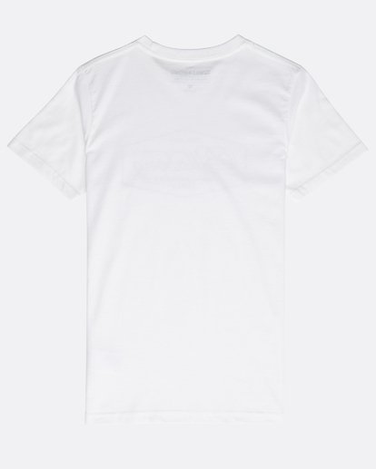 1 Boys' Trademark T-Shirt Weiss N2SS09BIP9 Billabong