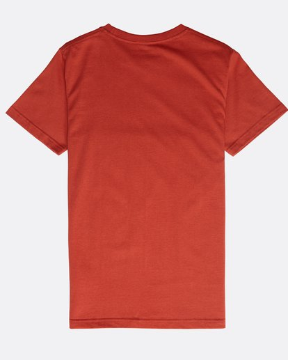 1 Boys' Trademark T-Shirt Rot N2SS09BIP9 Billabong