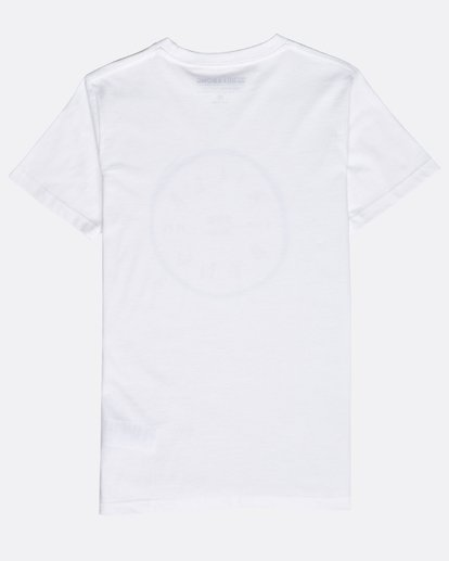 1 Boys' Rotohand T-Shirt Blanco N2SS10BIP9 Billabong