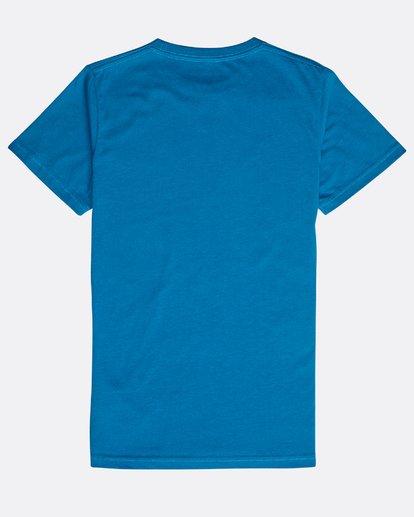 1 Boys' Rotohand T-Shirt Azul N2SS10BIP9 Billabong