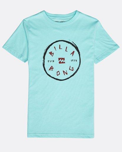 0 Boys' Rotohand T-Shirt Grün N2SS10BIP9 Billabong