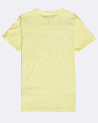 1 Boys' Rotohand T-Shirt Amarillo N2SS10BIP9 Billabong