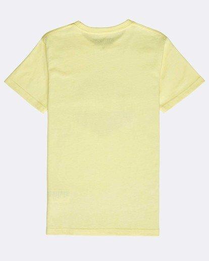 1 Boys' Access T-Shirt Gelb N2SS11BIP9 Billabong