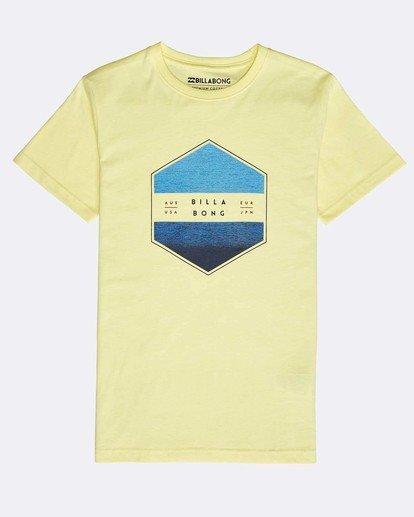0 Boys' Access T-Shirt Gelb N2SS11BIP9 Billabong