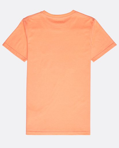 1 Boys' Access T-Shirt Naranja N2SS11BIP9 Billabong
