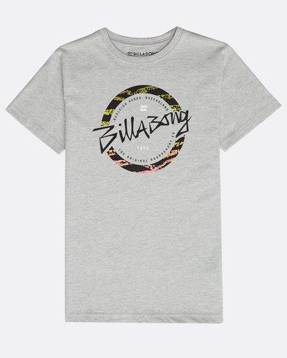 0 Boys' Eighty T-Shirt Gris N2SS13BIP9 Billabong