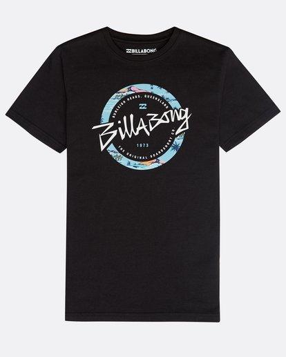 0 Boys' Eighty T-Shirt Schwarz N2SS13BIP9 Billabong