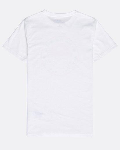 1 Boys' Rock Point T-Shirt Blanco N2SS14BIP9 Billabong