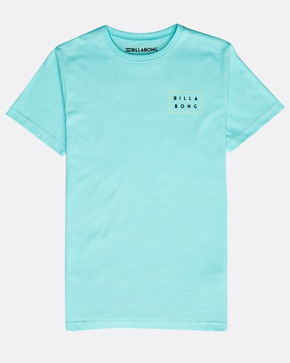 0 Boys' Die Cut Theme T-Shirt Verde N2SS15BIP9 Billabong