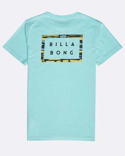 1 Boys' Die Cut Theme T-Shirt Verde N2SS15BIP9 Billabong