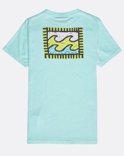 1 Boys' Nairobi T-Shirt Grün N2SS16BIP9 Billabong