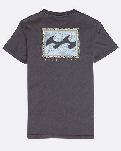 1 Boys' Nairobi T-Shirt Gris N2SS16BIP9 Billabong
