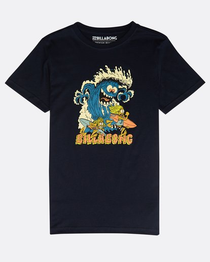 0 Boys' Rogue Set T-Shirt Azul N2SS17BIP9 Billabong