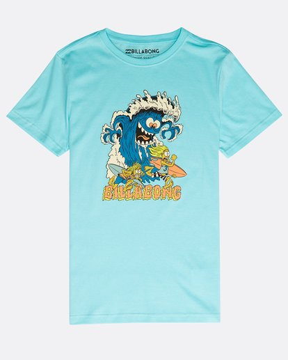 0 Boys' Rogue Set T-Shirt Verde N2SS17BIP9 Billabong