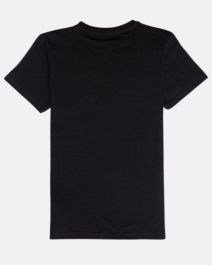 1 Boys' Surf Attack T-Shirt Schwarz N2SS18BIP9 Billabong