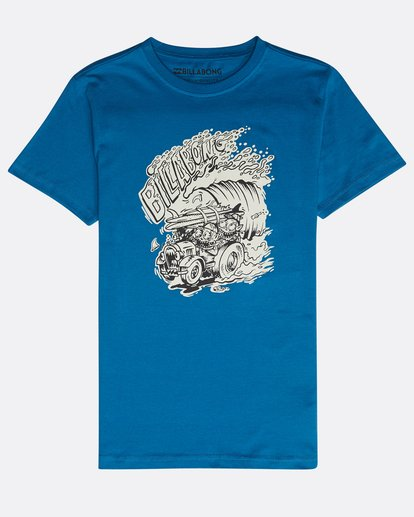 0 Boys' Surf Attack T-Shirt Bleu N2SS18BIP9 Billabong