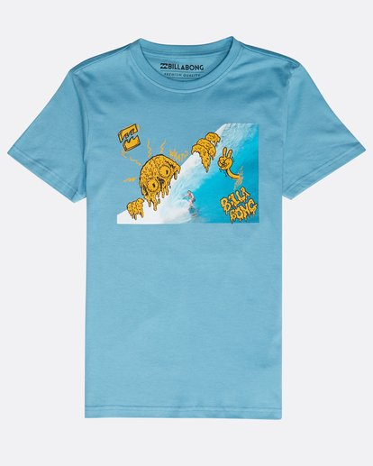 0 Boys' Melted Tube T-Shirt Azul N2SS19BIP9 Billabong
