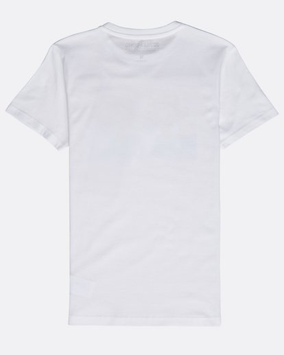 1 Boys' Psyko Air T-Shirt Weiss N2SS20BIP9 Billabong