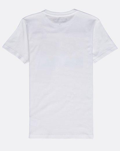 1 Boys' Psyko Air T-Shirt Blanco N2SS20BIP9 Billabong