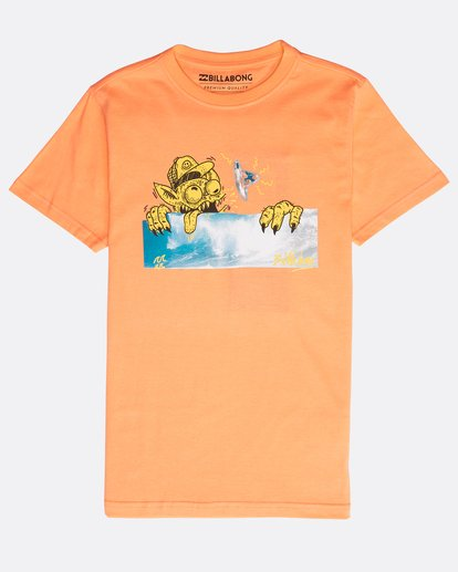 0 Boys' Psyko Air T-Shirt Naranja N2SS20BIP9 Billabong