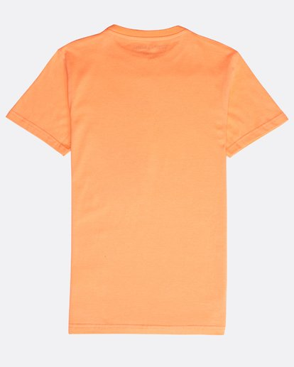 1 Boys' Psyko Air T-Shirt Naranja N2SS20BIP9 Billabong