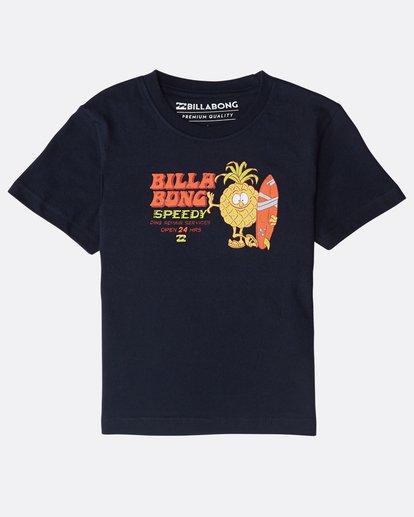 0 Boys' Speedy T-Shirt Bleu N2SS22BIP9 Billabong