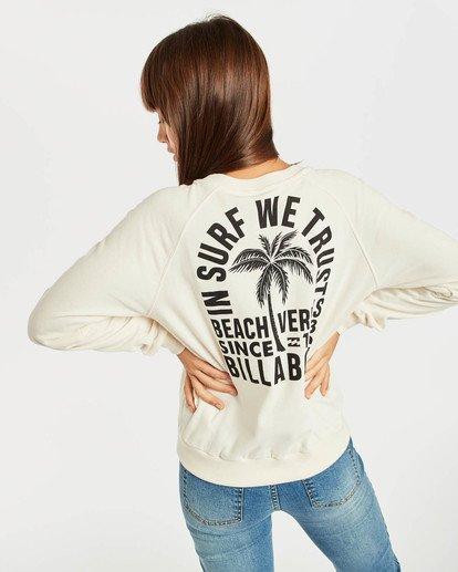 4 Laguna Beach Sweatshirt Blanc N3CR04BIP9 Billabong