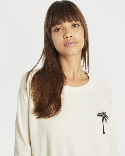 1 Laguna Beach Sweatshirt Blanc N3CR04BIP9 Billabong