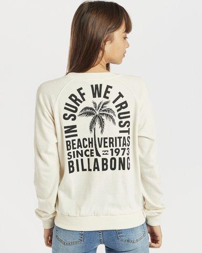 2 Laguna Beach Sweatshirt Blanc N3CR04BIP9 Billabong