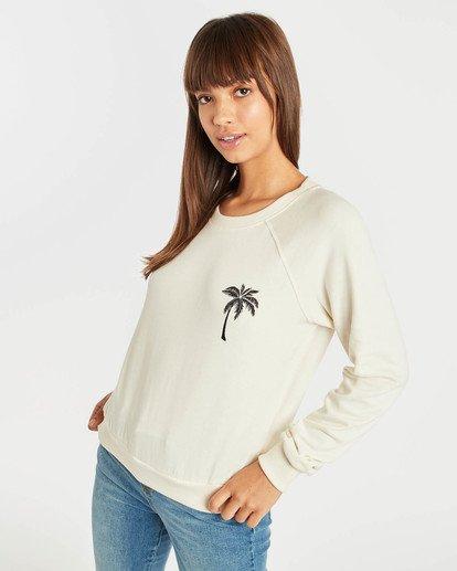 3 Laguna Beach Sweatshirt Blanc N3CR04BIP9 Billabong