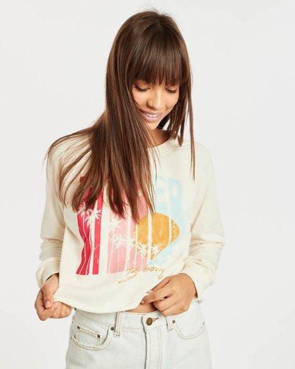 1 Crop Sweatshirt Beige N3CR05BIP9 Billabong