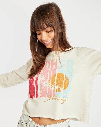 2 Crop Sweatshirt Beige N3CR05BIP9 Billabong