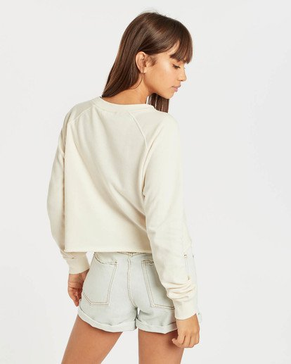 3 Crop Sweatshirt Beige N3CR05BIP9 Billabong
