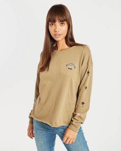 0 Saylor Sweatshirt Vert N3CR06BIP9 Billabong
