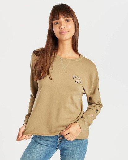 1 Saylor Sweatshirt Vert N3CR06BIP9 Billabong