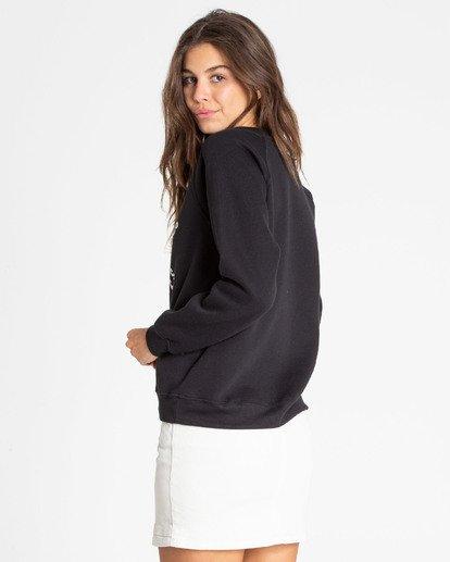 1 Good Times Sweatshirt Noir N3CR10BIMU Billabong