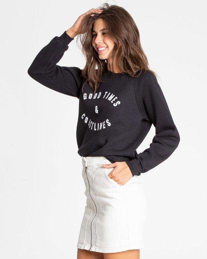 2 Good Times Sweatshirt Noir N3CR10BIMU Billabong