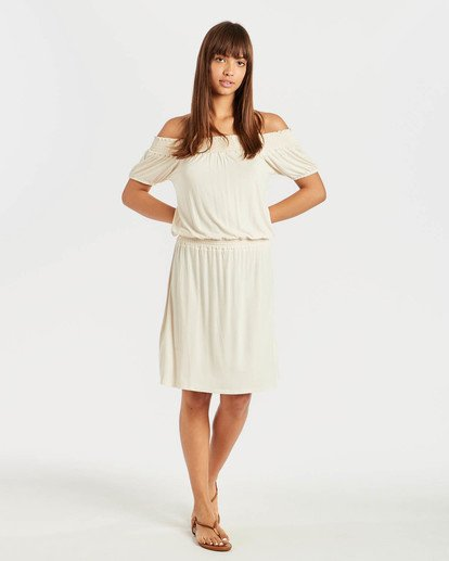 4 Coastal Kisses Dress Beige N3DR05BIP9 Billabong