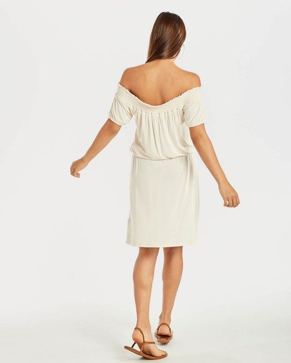5 Coastal Kisses Dress Beige N3DR05BIP9 Billabong