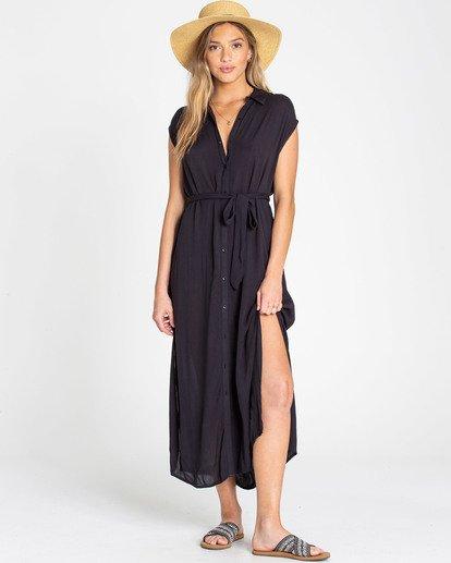 0 Little Flirt Dress Negro N3DR06BIP9 Billabong
