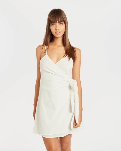 0 Island Wrap Dress Beige N3DR13BIP9 Billabong