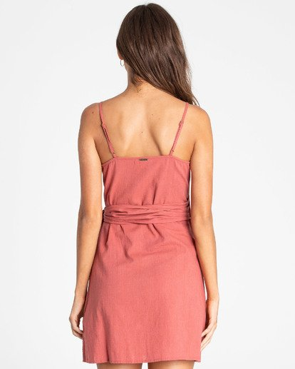 1 Island Wrap Dress Rot N3DR13BIP9 Billabong