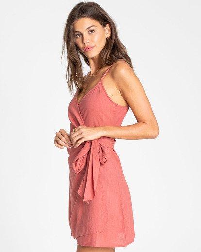 2 Island Wrap Dress Rot N3DR13BIP9 Billabong
