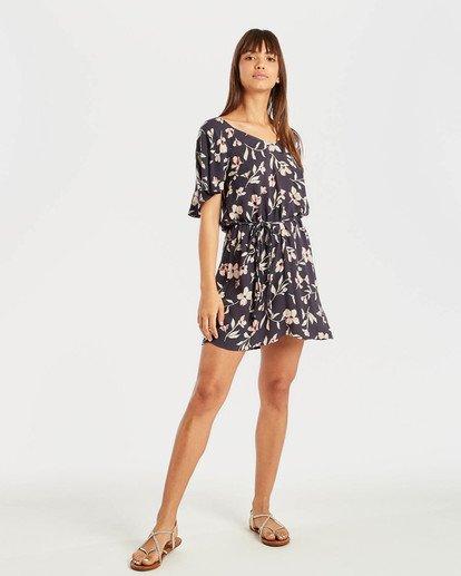 3 Fine Flutter Dress Schwarz N3DR17BIP9 Billabong